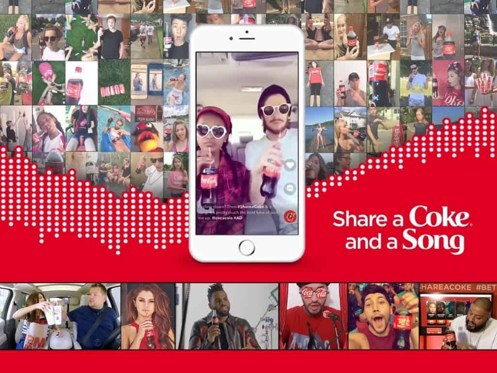 "Wyzwanie ""Share a Coke"" na TikToku"