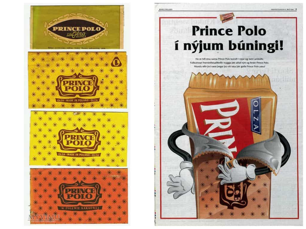 Prince Polo na Islandii