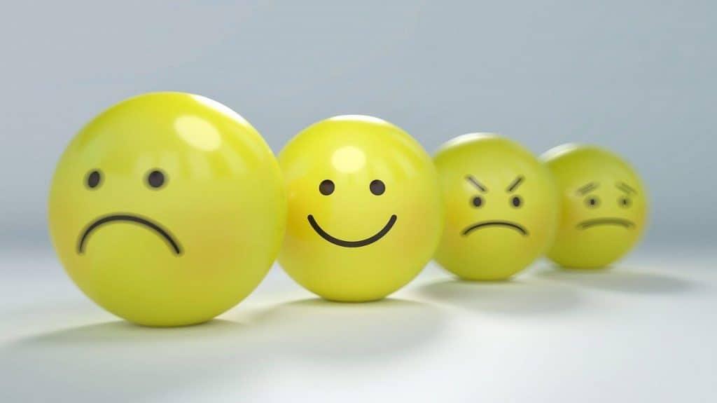 Różne stany emocjonalne