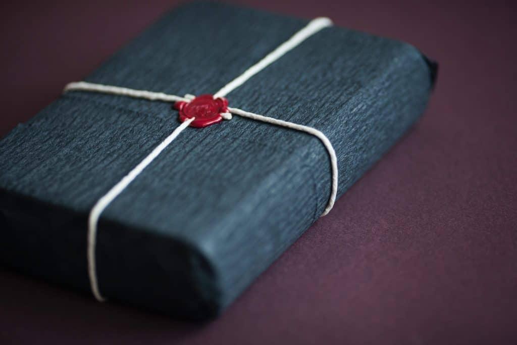 Elegancka paczka